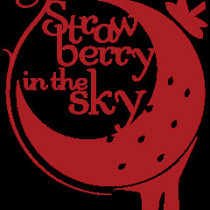 strawberry in the sky